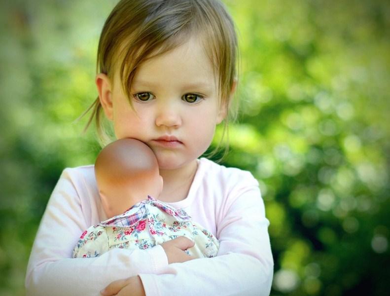 Ребенок стесняется в садике